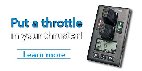 Put a throttle in your thruster
